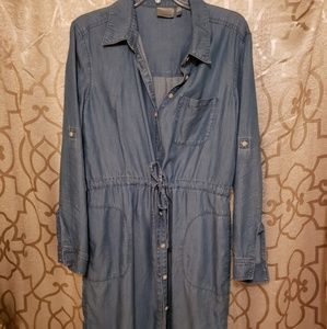 Athleta Denim Chambray dress.